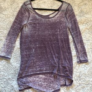 Tops - Altar'd State Purple Top